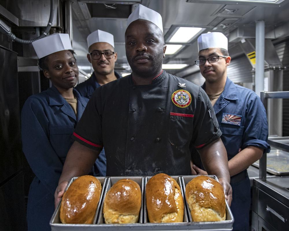 DVIDS - News - Greensboro, NC, Native serves aboard Rafael Peralta while it is forward deployed in the Pacific Ocean