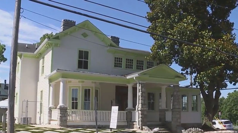 The historic magnolia house in Greensboro is slated to open as a bed and breakfast in the fall
